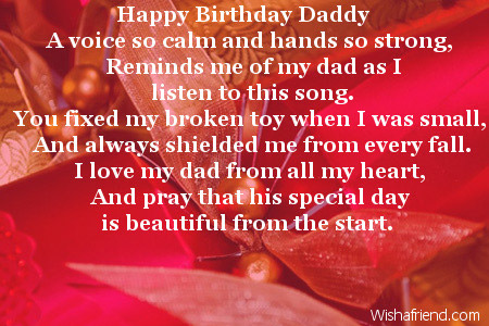 happy birthday dad from daughter messages ; 2445-dad-birthday-poems