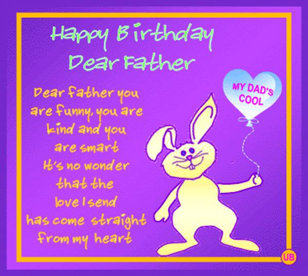 happy birthday dad from daughter messages ; happy-birthday-messages-dad