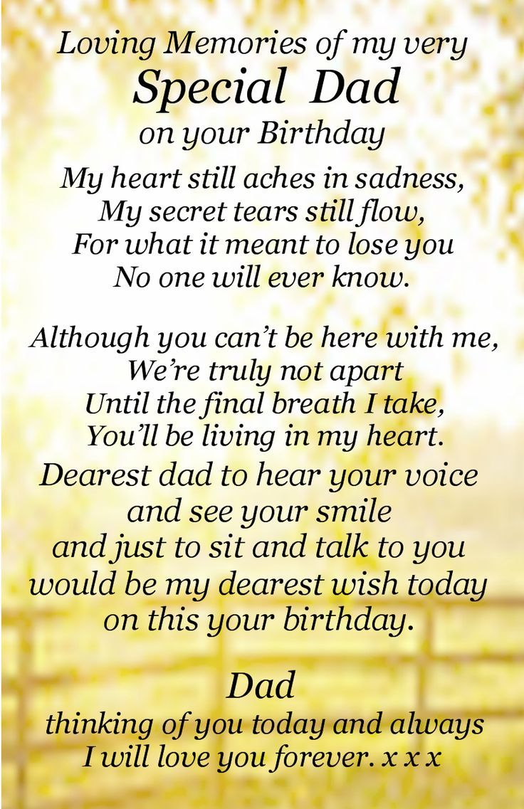 happy birthday dad in heaven poems ; 72bbba4dbe6d3df28b3e51422cf5c775