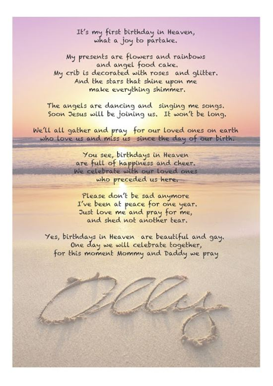 happy birthday dad in heaven poems ; Happy-birthday-from-heaven-poem
