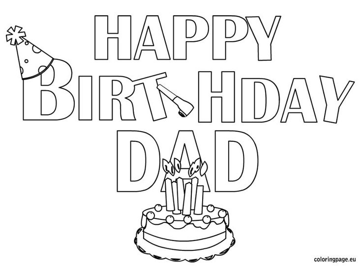 happy birthday daddy cards printable to color ; 40th-birthday-coloring-pages-happy-birthday-daddy-printable-birthday-card-happy-birthday-dad
