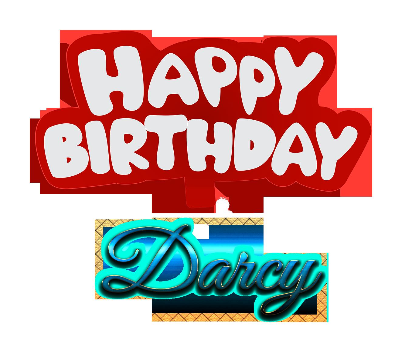happy birthday darcy ; Darcy-Happy-Birthday-Name-Logo