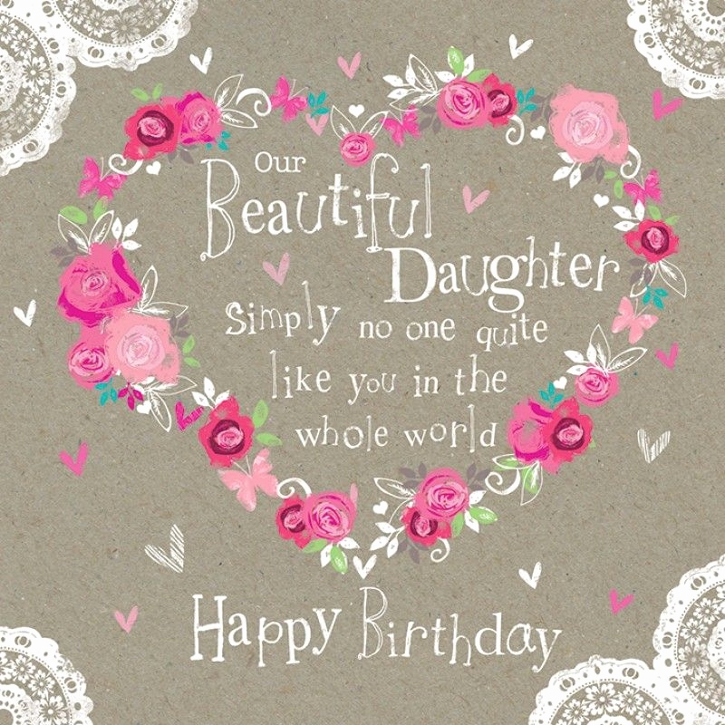 Happy Birthday Daughter Images For Facebook Cards
