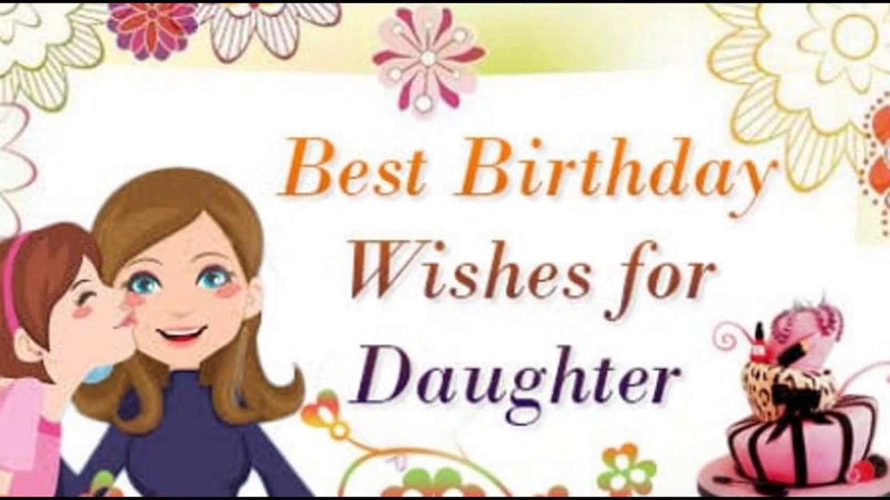 happy birthday daughter images for facebook ; maxresdefault