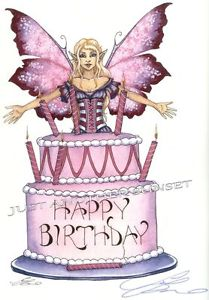 happy birthday fairy images ; s-l300