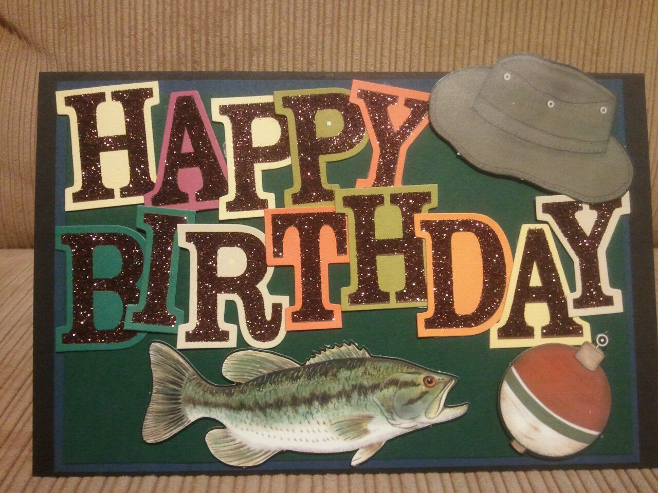 happy birthday fisherman card ; 61a2d29508dff78a69b09b0eba6c05b1