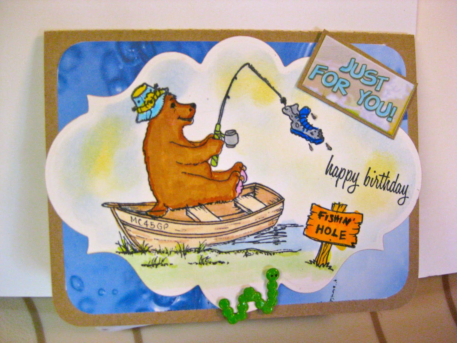 happy birthday fisherman card ; IMG_4785