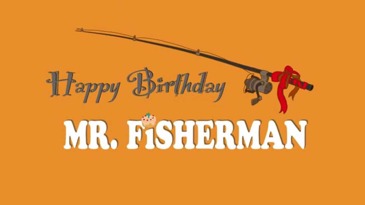 happy birthday fisherman card ; ce1cae858ee183924f0a741999147088