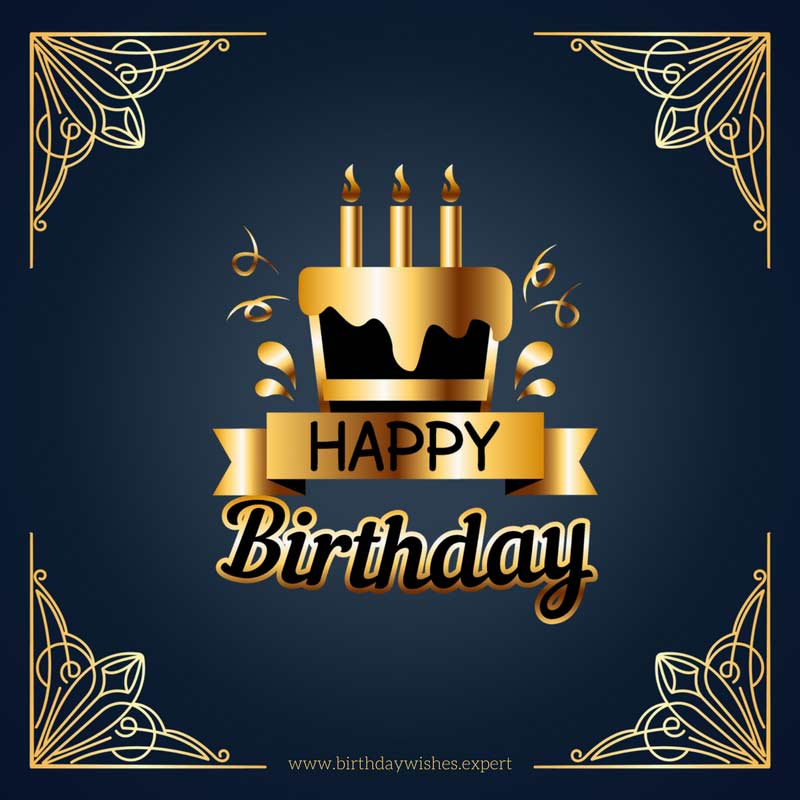 happy birthday formal message ; Birthday-greetings-for-client