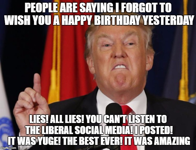 happy birthday from trump ; 1w5bz4