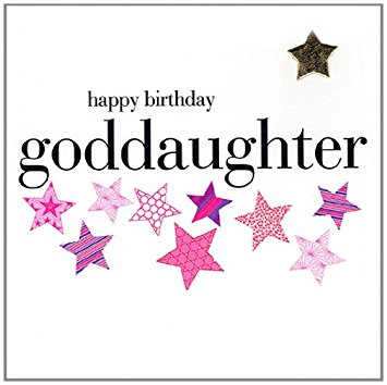 happy birthday goddaughter ; 51qV-FzTcgL