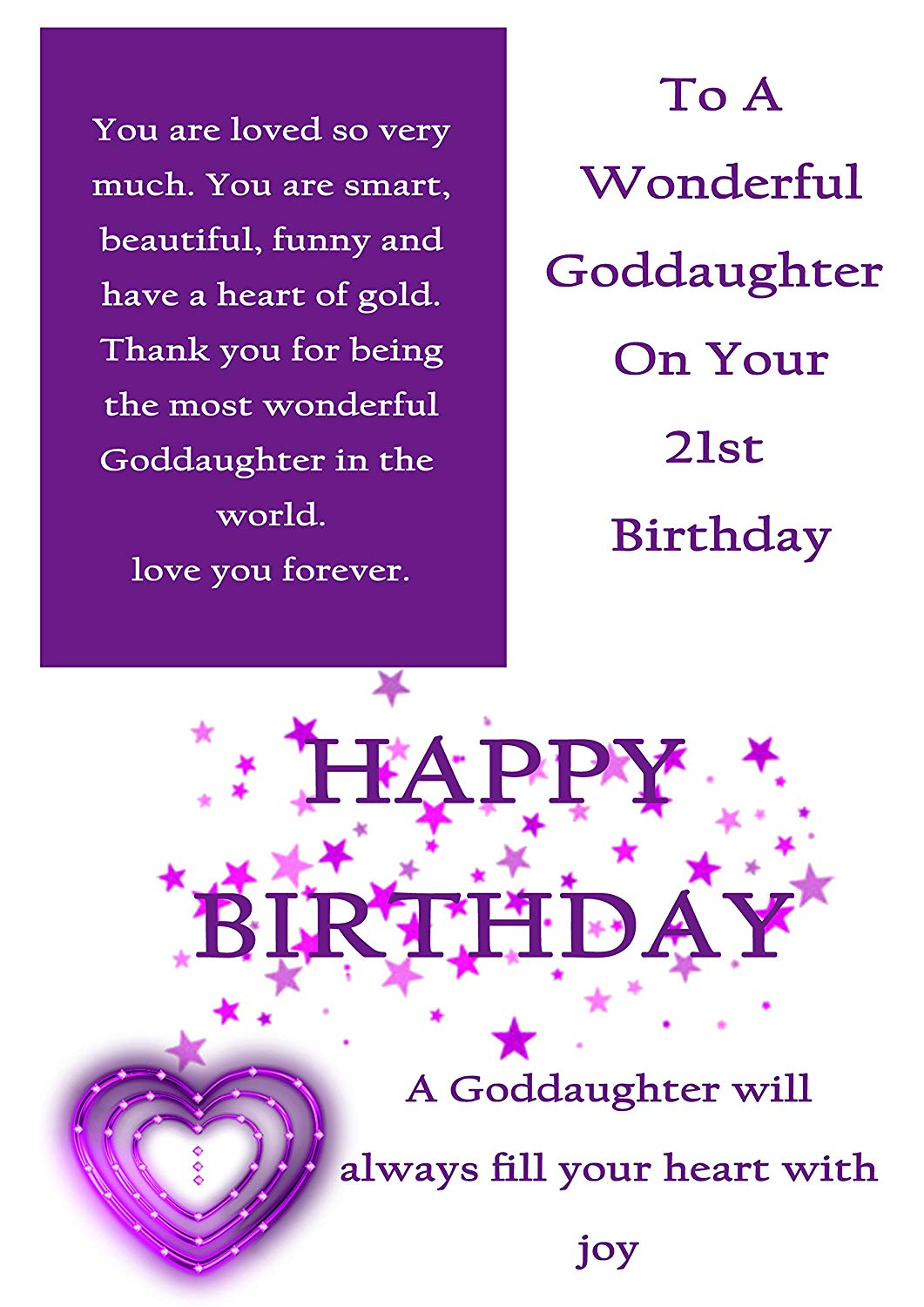happy birthday goddaughter ; 81TLq4EHx8L