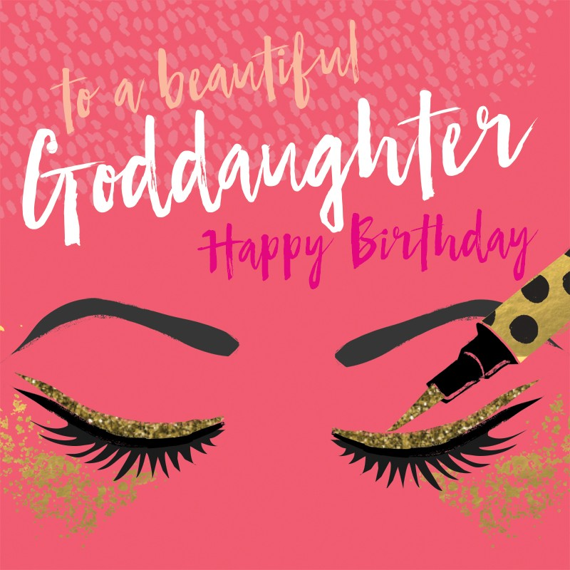 happy birthday goddaughter ; blu157
