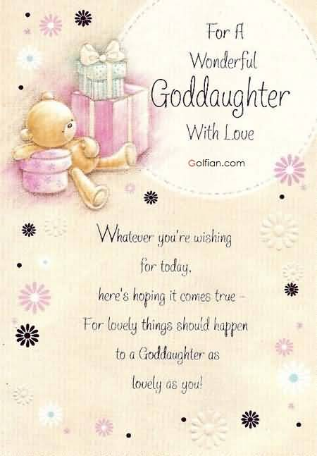 happy birthday goddaughter quotes ; Awesome-Teddy-Birthday-Wishes-For-Wonderful-Goddaughter-Greetings