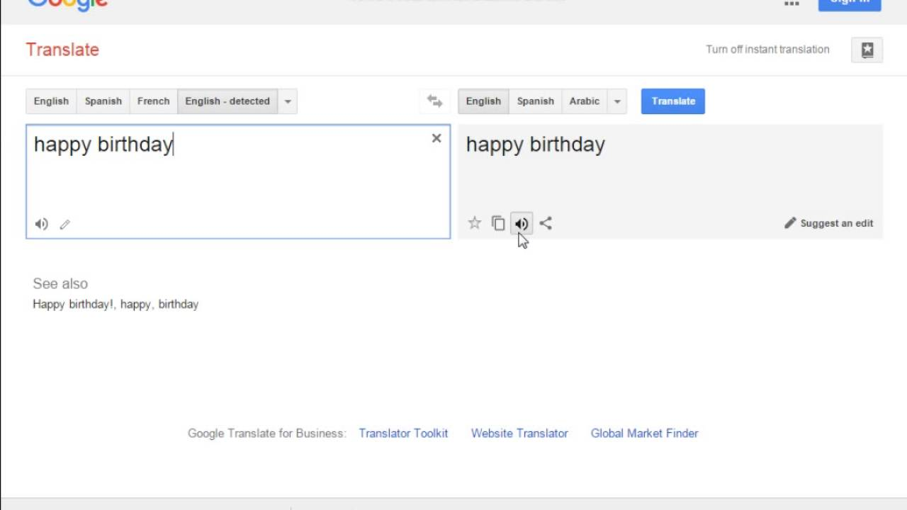 happy birthday google translate ; maxresdefault
