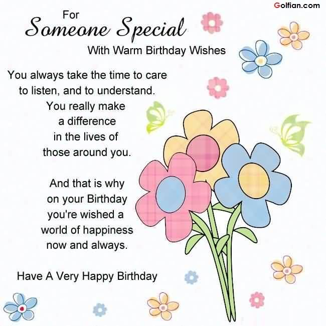 happy birthday gorgeous message ; Awesome-Quotes-Birthday-Message-For-Someone-Special