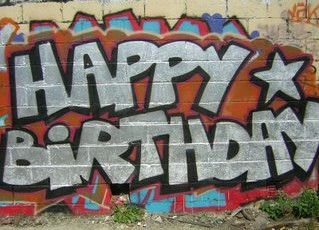 happy birthday graffiti ; 8e98be5046907eb33f5a995a3e00fa15