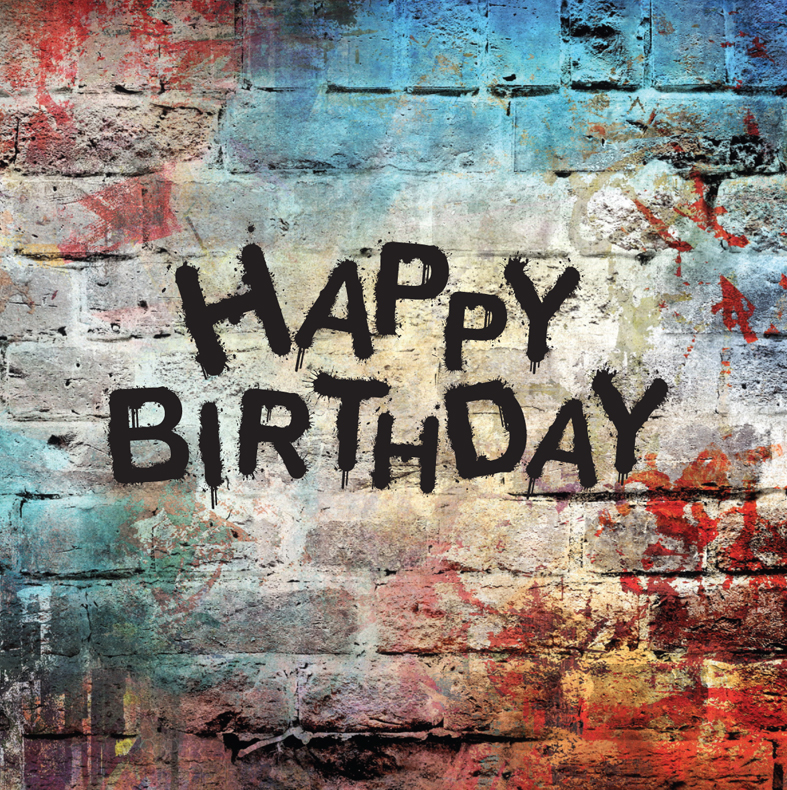 happy birthday graffiti ; GCBIRTHDAY-0056-GRUNGE-WALL_Layout-1