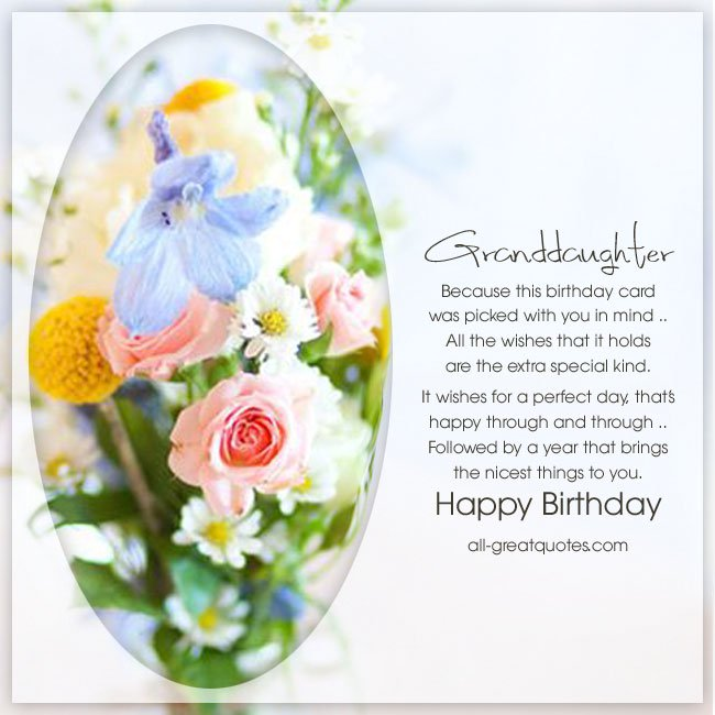 happy birthday granddaughter images for facebook ; Free-Birthday-Cards-For-Granddaughter-Birthday-card-was-picked-with-you-in-mind