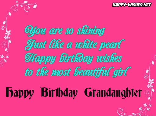 happy birthday granddaughter quotes ; 7HappybirthdaywishesforGranddaughter-compressed