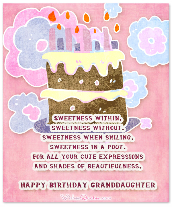 happy birthday granddaughter quotes ; Granddaughter-birthday-card-2