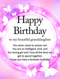 happy birthday granddaughter quotes ; fb737c6b1da4ef588b5ec91a1005e524--happy-birthday-wishes-cards-special-birthday-cards
