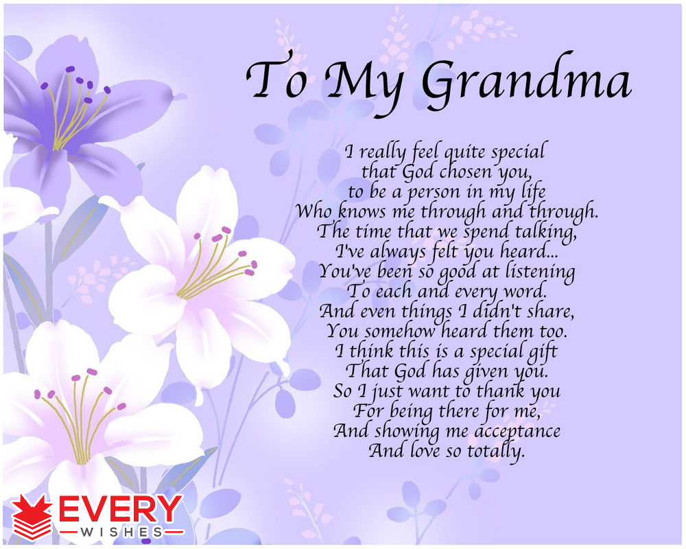 happy birthday grandmother ; 11-21