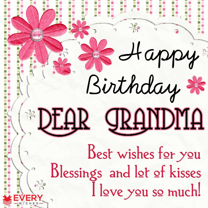 happy birthday grandmother ; 14-1