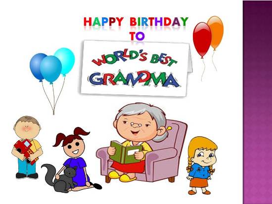 happy birthday grandmother ; 305926
