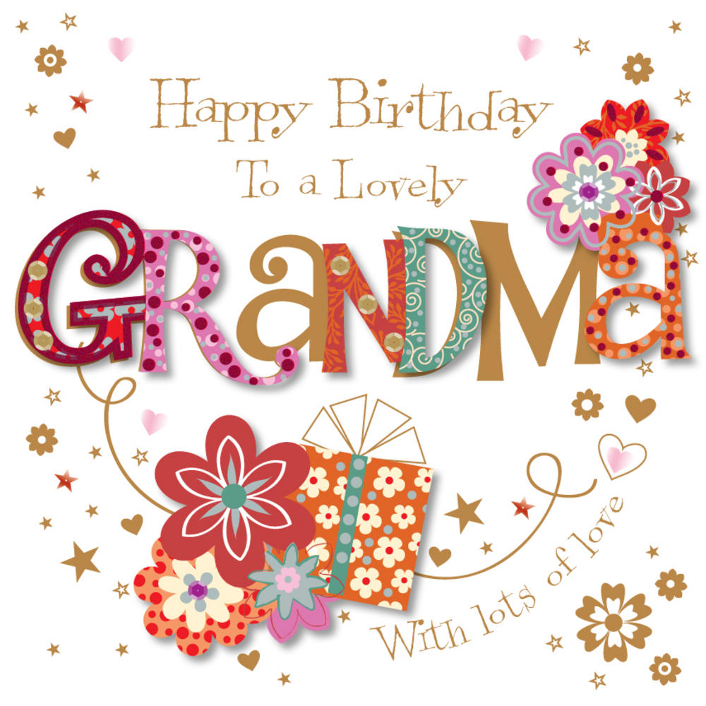 happy birthday grandmother ; lrgscaleMWE30074_K