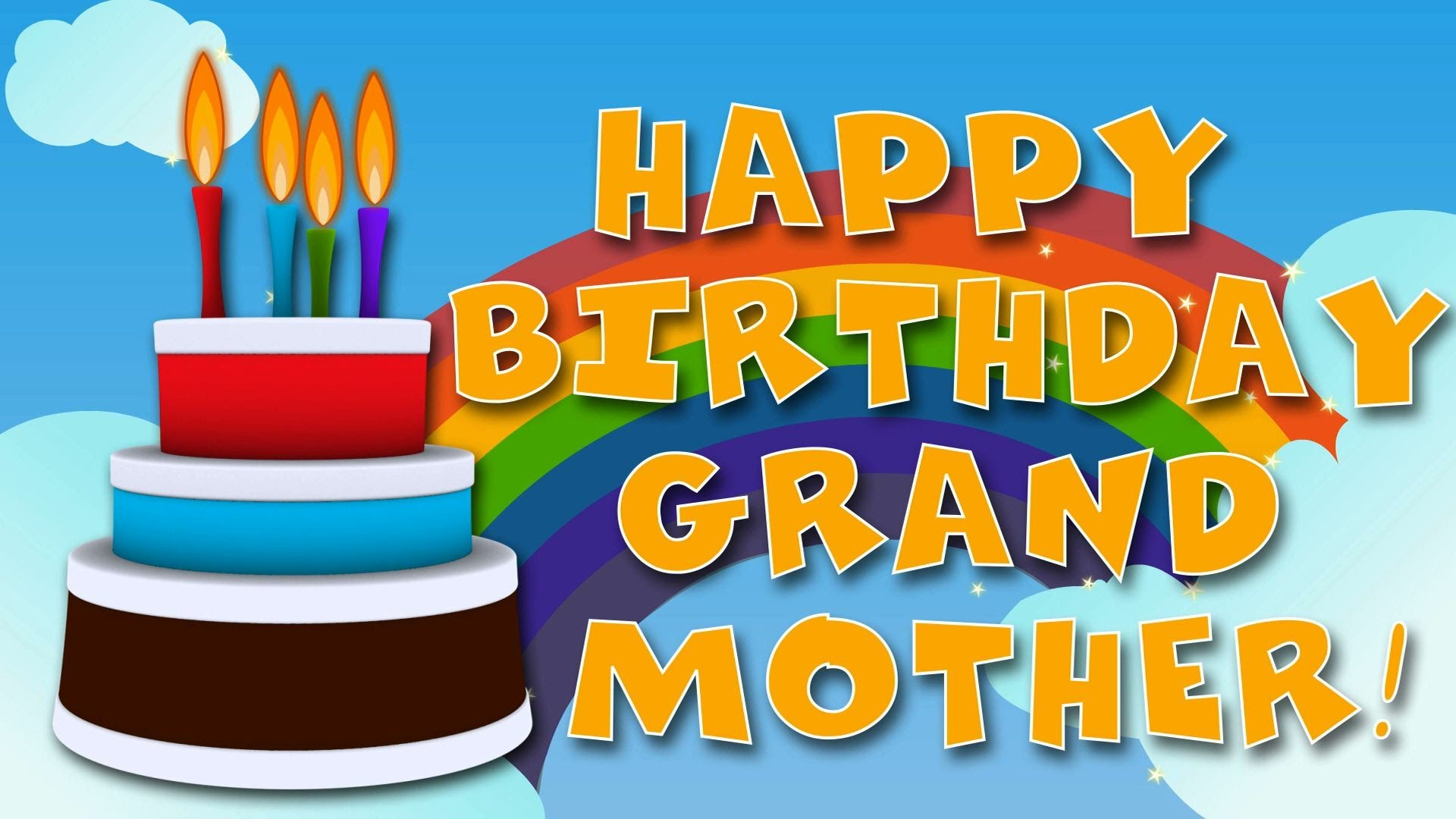 happy birthday grandmother ; maxresdefault