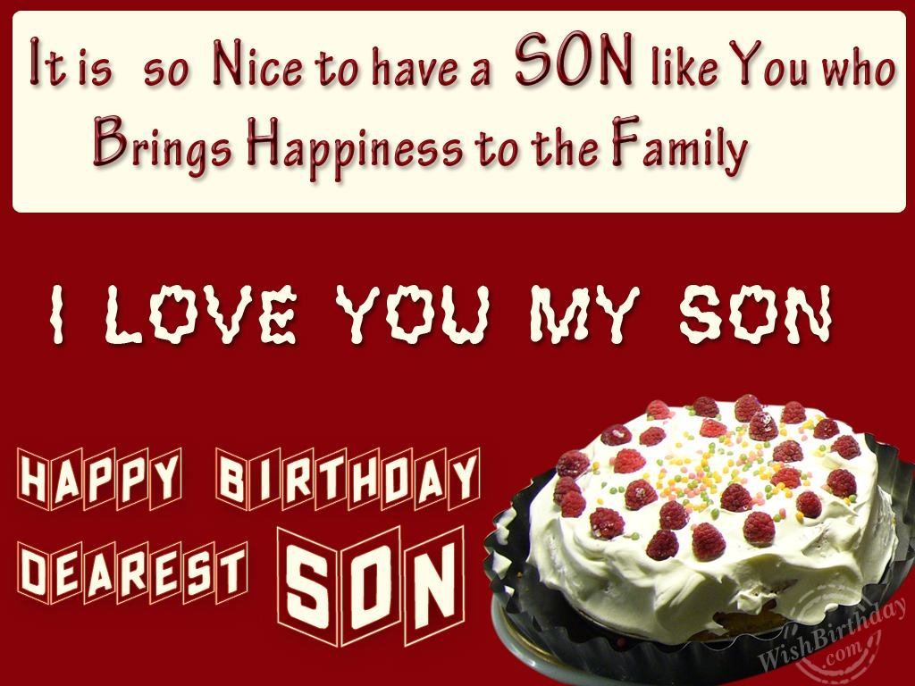 happy birthday greetings for son ; 1083