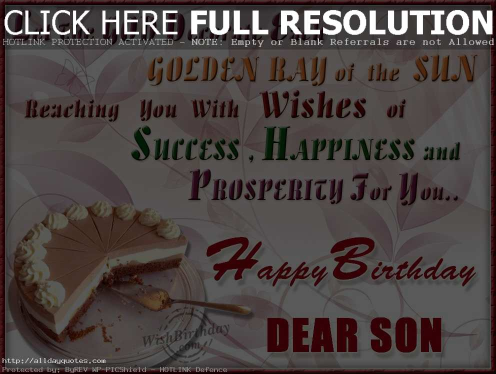 happy birthday greetings for son ; Happy-Birthday-Wishes-For-Son