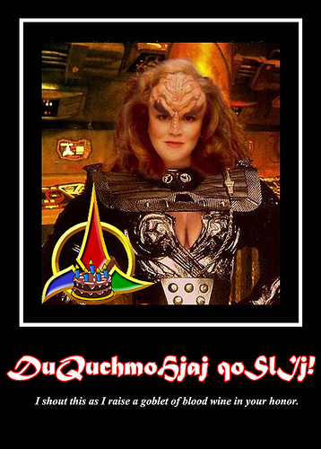 happy birthday in klingon ; 6514565687_a3dd8cf060