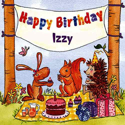happy birthday izzy ; 500x500