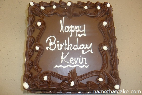 happy birthday kevin cake ; kevin2