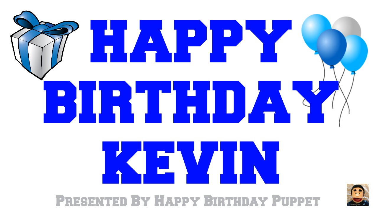 happy birthday kevin cake ; maxresdefault
