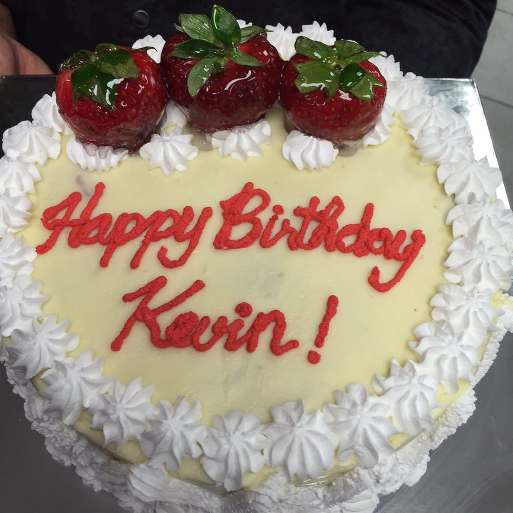 happy birthday kevin cake ; o