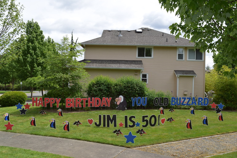 happy birthday lawn signs ; Shopping-Cart-12-Happy-Birthday-You-Old-Buzzard-Funny-Yard-Signs-Humorous-Party-Decorations-for-Lawn