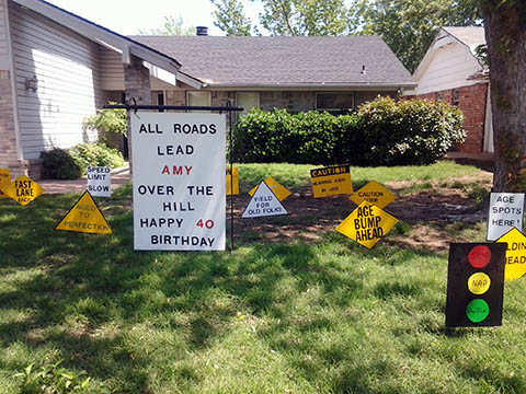 happy birthday lawn signs ; Traffic-Signs-Birthday