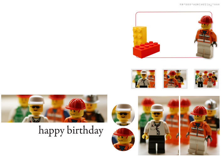 happy birthday lego card printable ; 5187897377_678a34505d_b