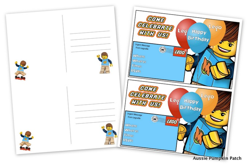happy birthday lego card printable ; Desktop22