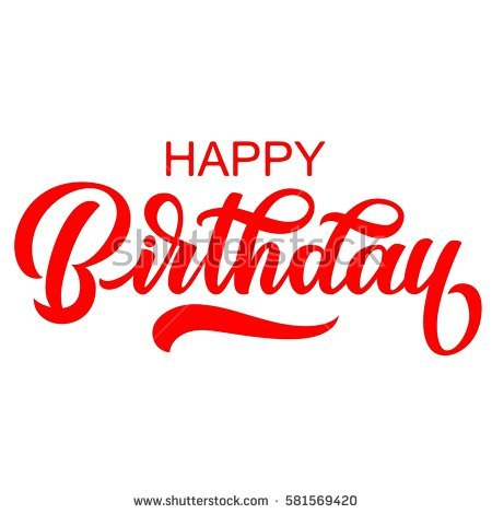 happy birthday letter design ; stock-vector-happy-birthday-handwriting-letters-brush-ink-calligraphy-vector-type-design-isolated-on-white-581569420