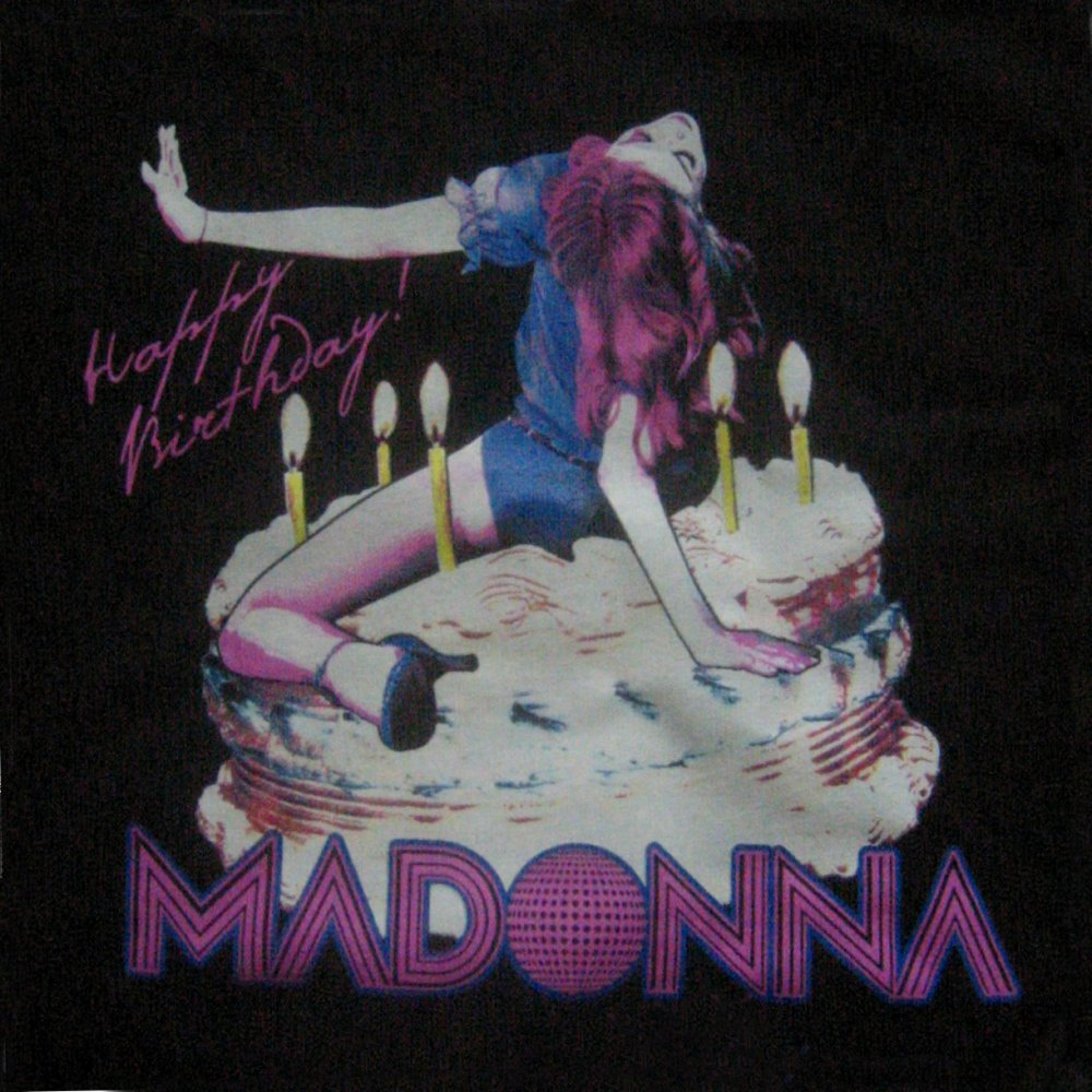 happy birthday madonna ; happybirthday