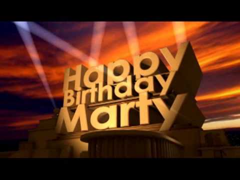 happy birthday marty ; hqdefault