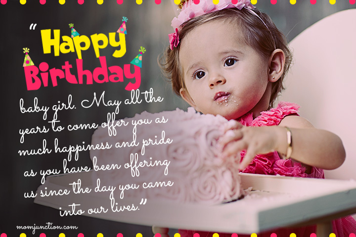 happy birthday message for baby girl ; 1st-Birthday-Wishes-For-Daughter4