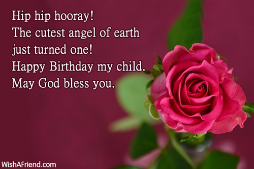 happy birthday message for baby girl ; 545-1st-birthday-wishes