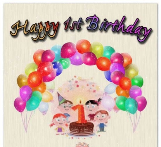 happy birthday message for baby girl ; Birthday-Wishes-For-Baby-Girl-Image540