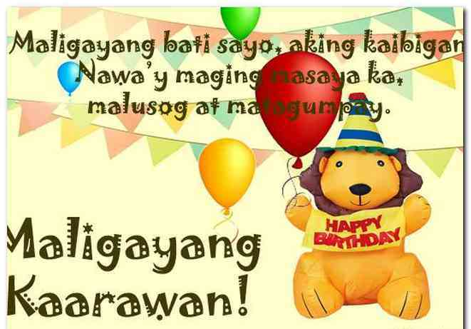 happy birthday message for best friend tagalog ; happy-birthday-greetings-for-a-friend-tagalog