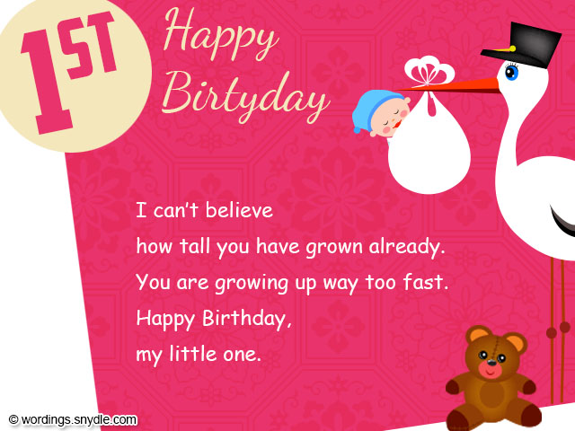 happy birthday message for child ; 1st-birthday-wishes
